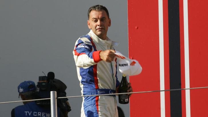 A TCR Italia 2016-os győztese, Roberto Colciago