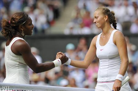 Serena Williams és Petra Kvitova