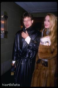 Jerry Hall és Mick Jagger