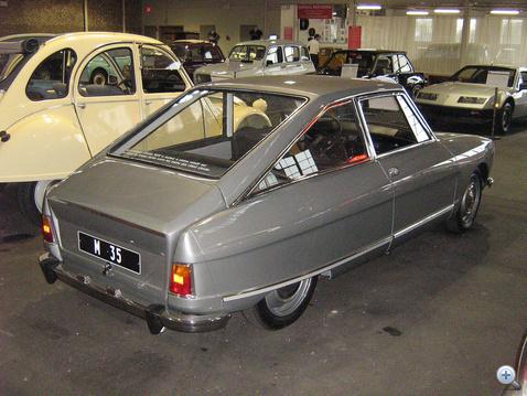 M35, a kísérleti autó