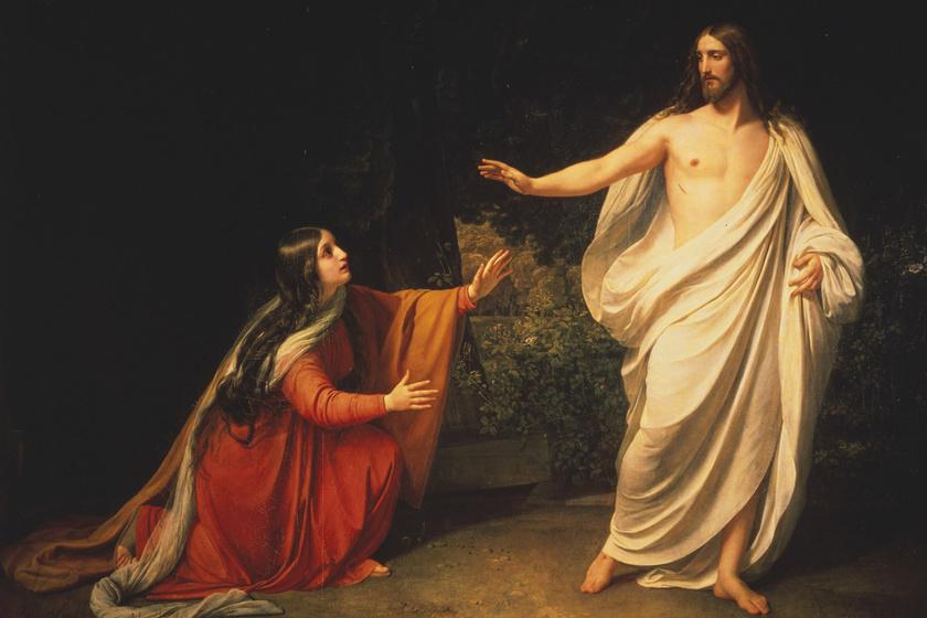 Mária Magdolna és Jézus