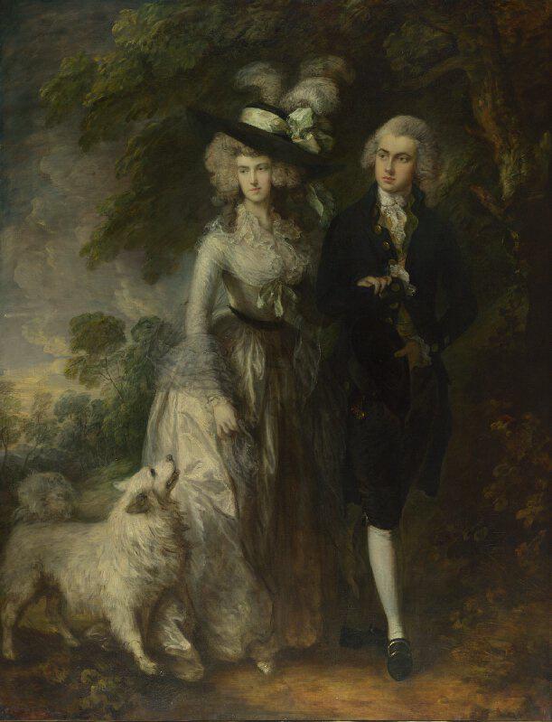 Mr. és Mrs. William Hallett, és a Reggeli séta