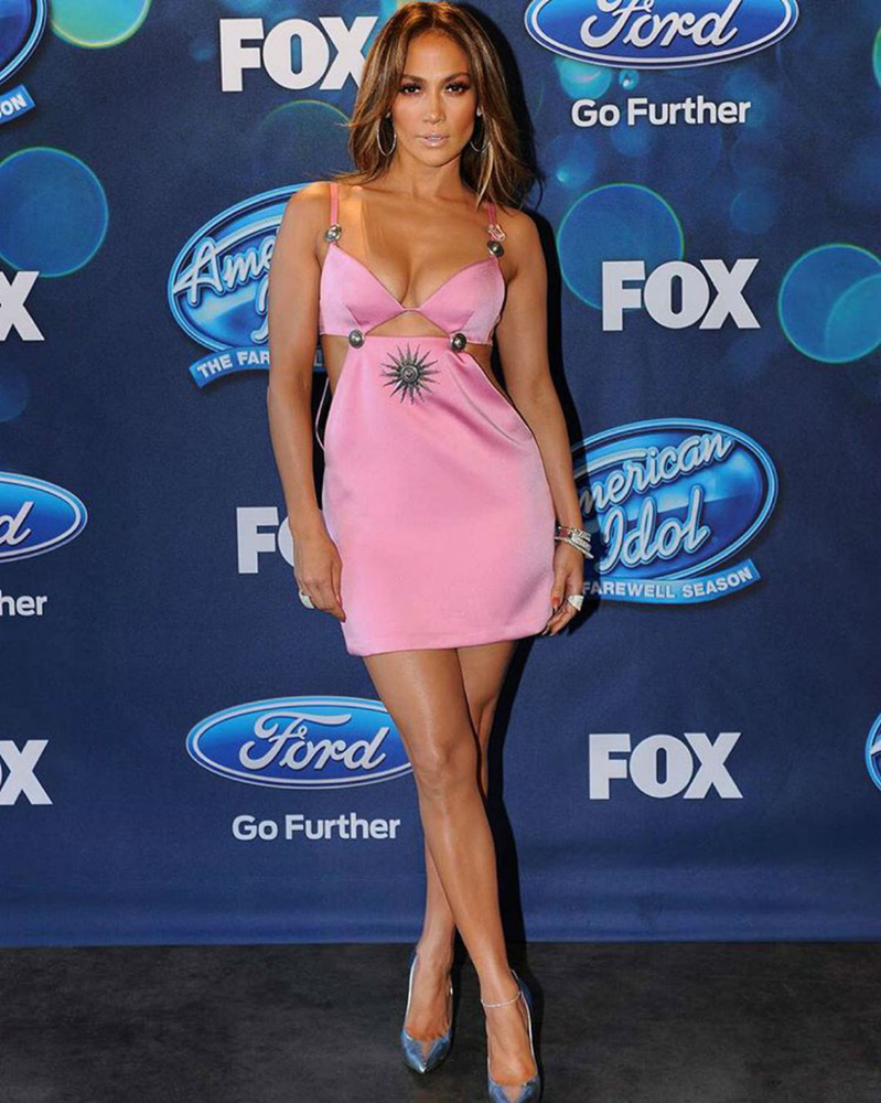 Ha az American Idolban zsűrizik, ha Ellen De Generes műsorába megy beszélgetni, előtte jól megstylingolják.