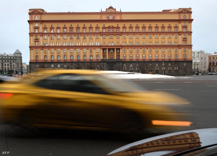 Az orosz Szövetségi Biztonsági Szolgálat, az FSZB, a volt KGB moszkvai székháza.