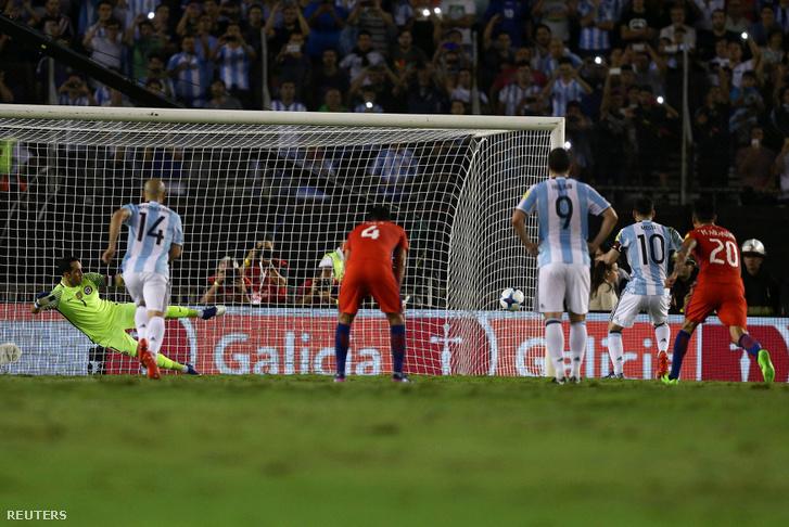 Messi büntetője