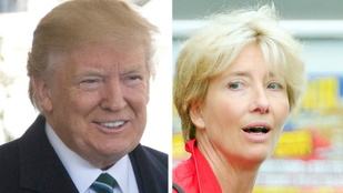 Donald Trump Emma Thompsonnal is kikezdett