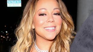 Mariah Carey nem döntött jól, mikor nem vett melltartót az átlátszó ruhája alá