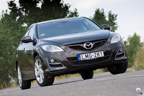 Igen, ez az új Mazda 6!