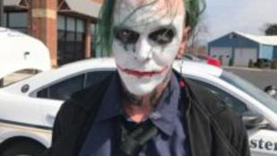 Letartóztattak egy férfit, mert úgy nézett ki, mint Joker