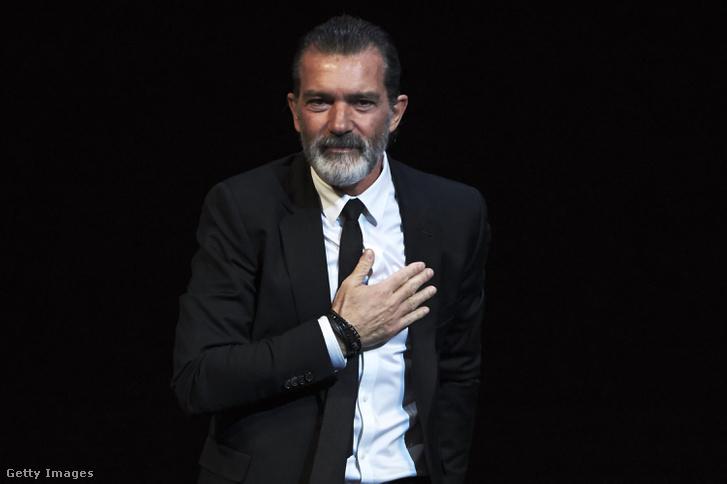 Antonio Banderas a tiszteletbeli Gold Biznaga díjat kapta a 20. Malagai Filmfesztiválon március 25-én, szombaton