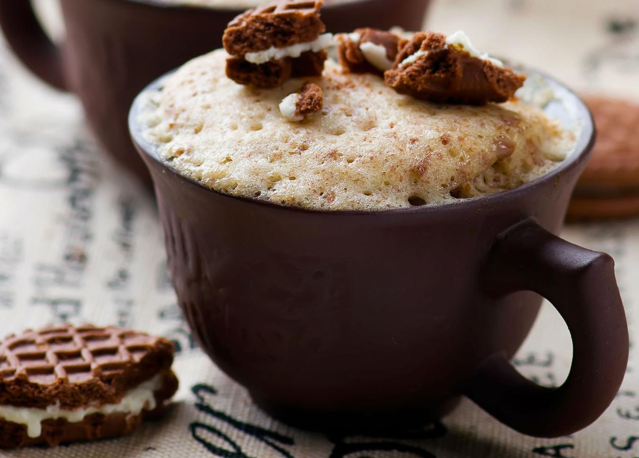 5 perces kávés bögrés süti: rögtön edd meg, úgy a finom