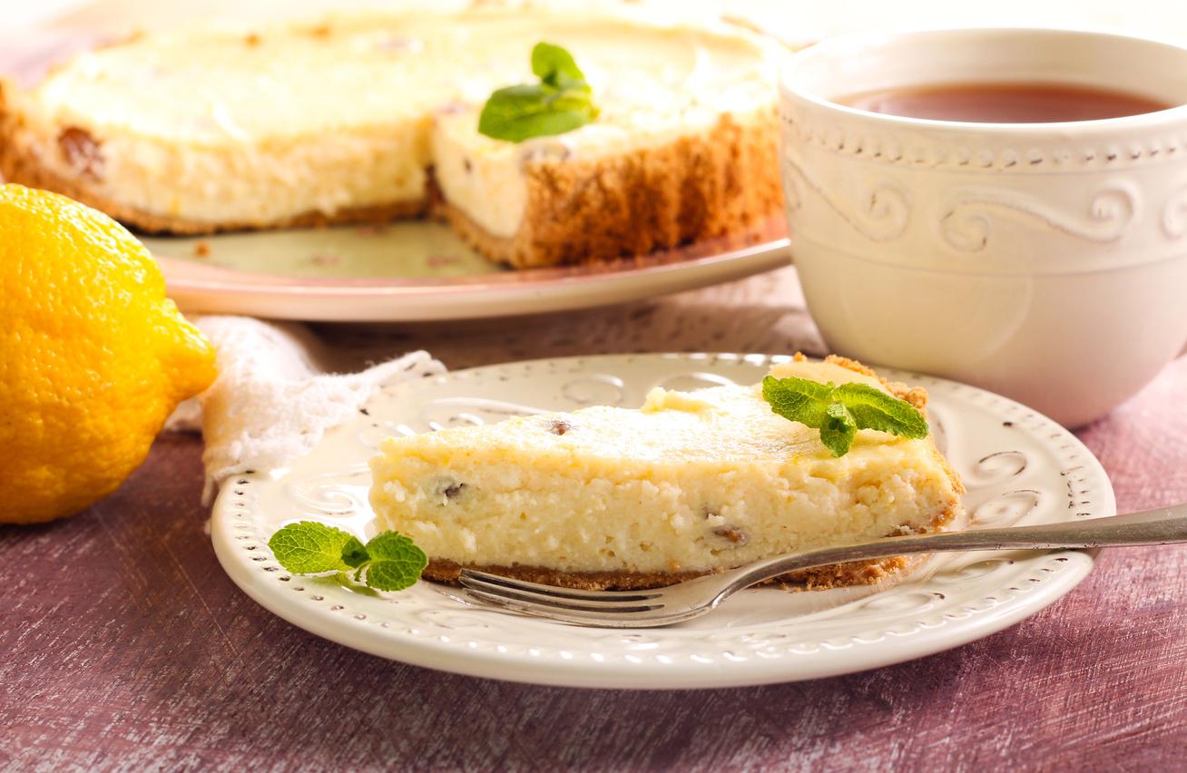 Varázslatos túrós, vaníliás pite - Omlós tészta, krémes töltelék
