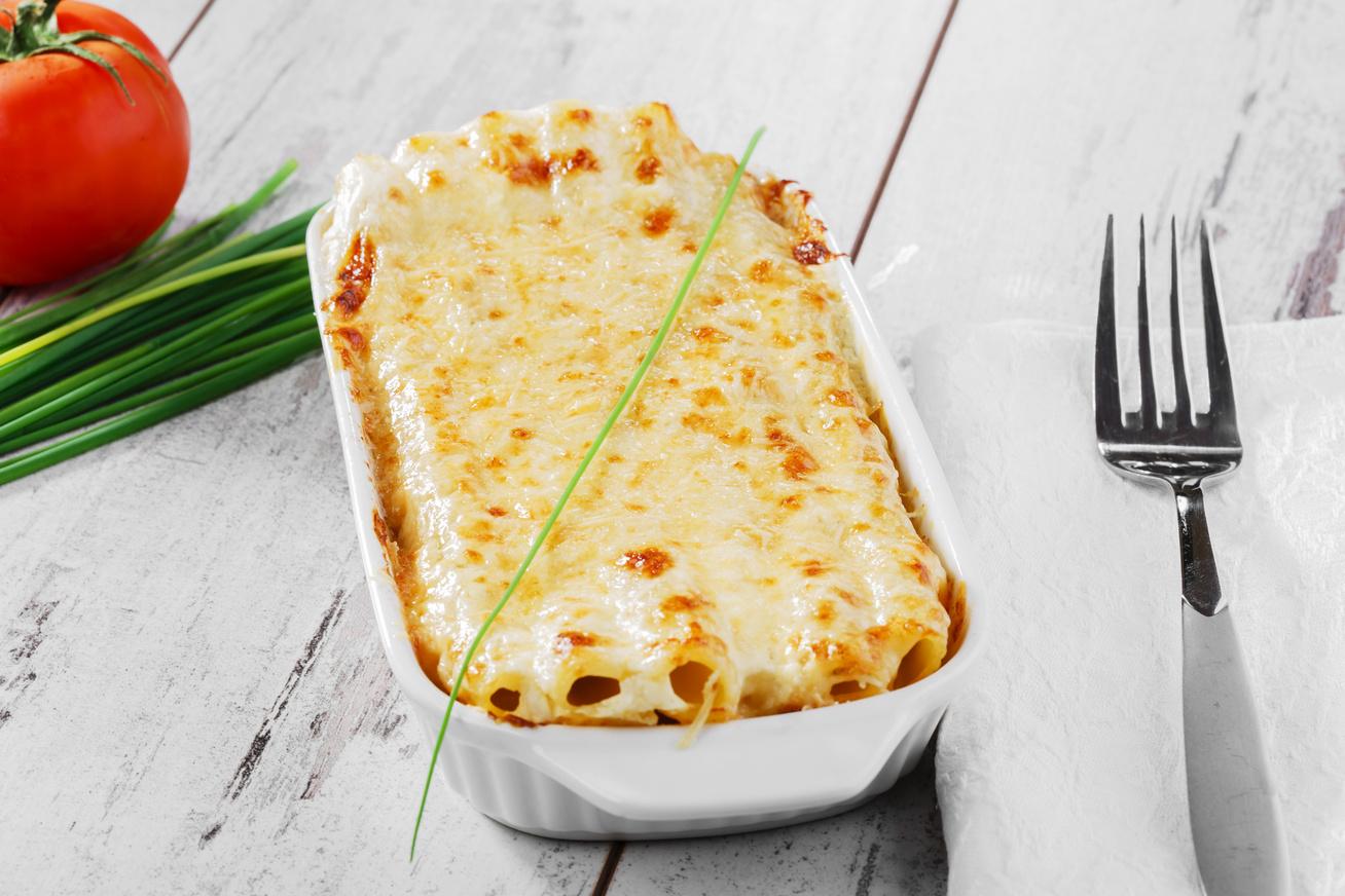 Tejszínes rakott penne darált hússal és sok sajttal - Ezzel a tésztával nem hibázhatsz