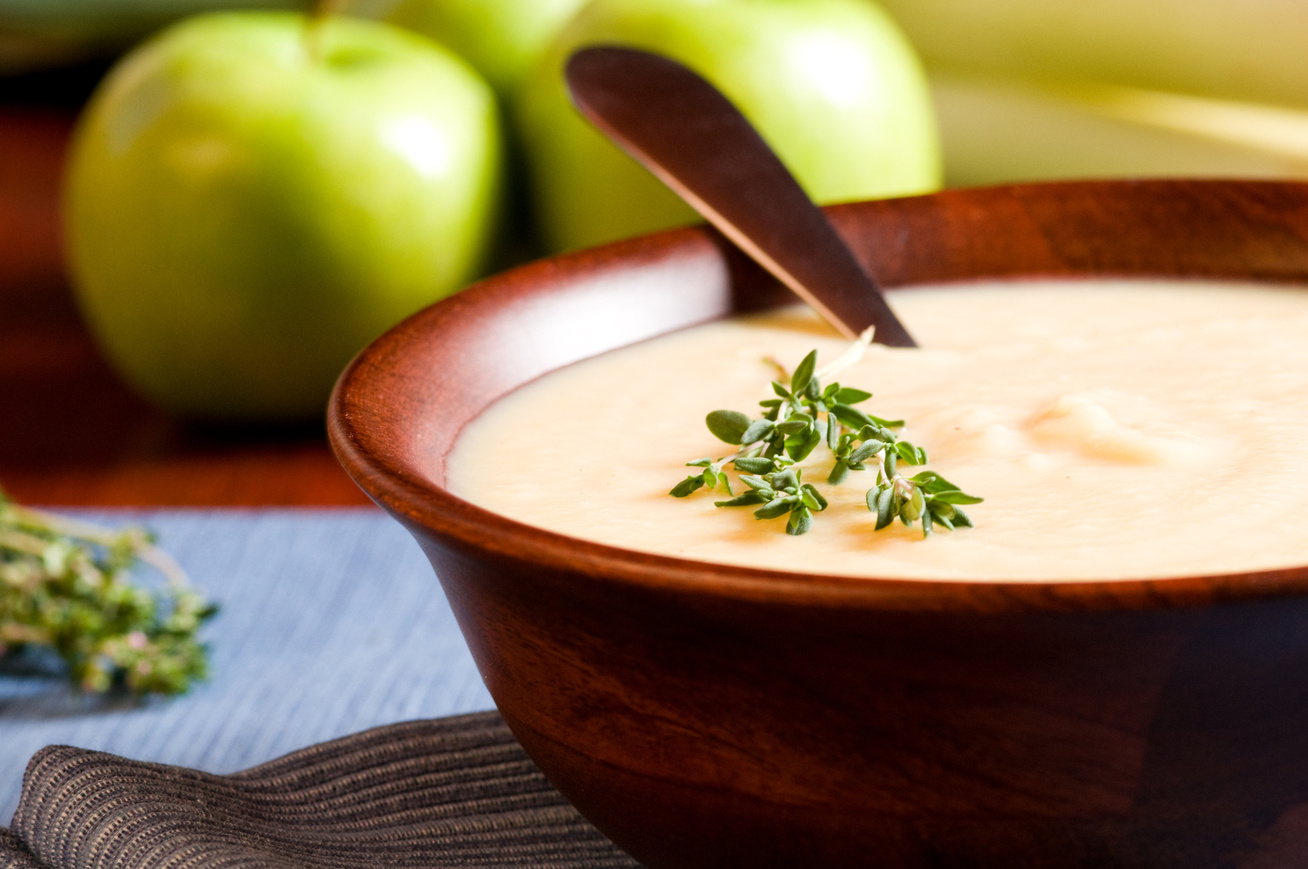 Pudingos almaleves csodás téli fűszerekkel