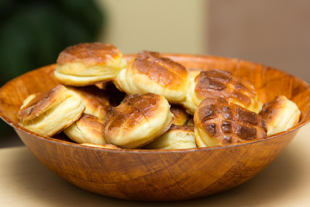 Szuperfinom alföldi krumplis pogácsa