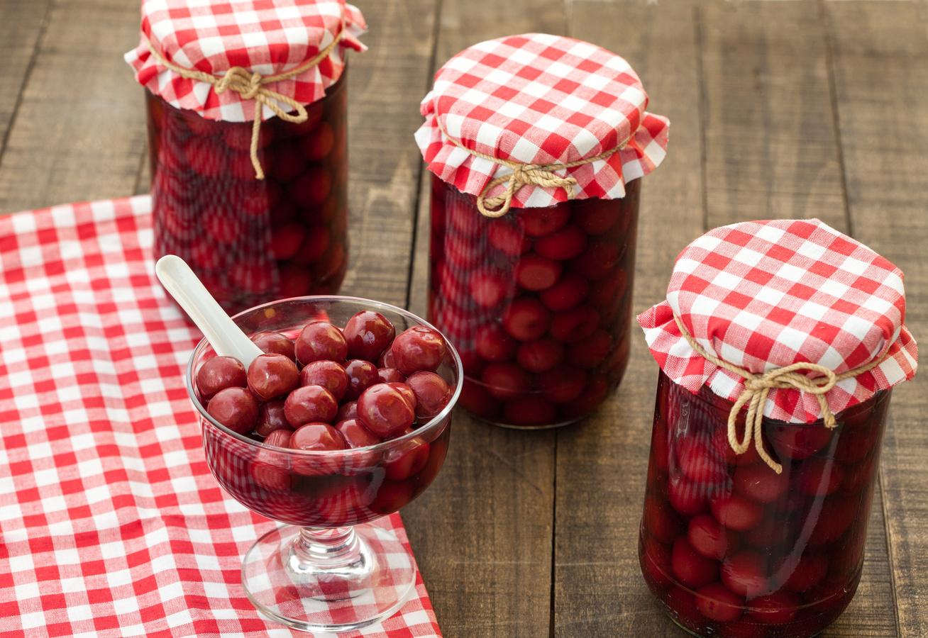 A hagyományos cseresznyekompót receptje