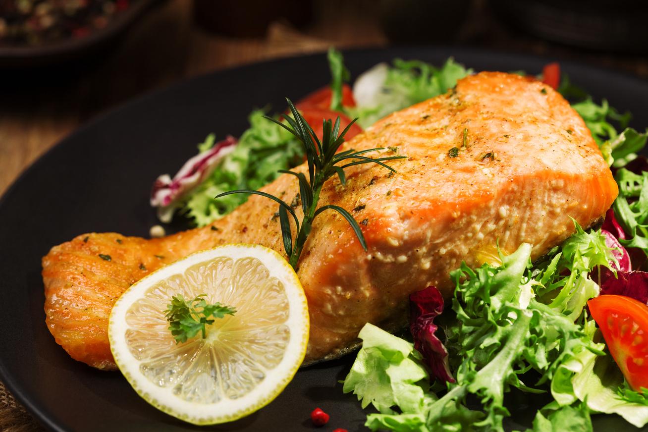 Citromos-vajas grillezett hal