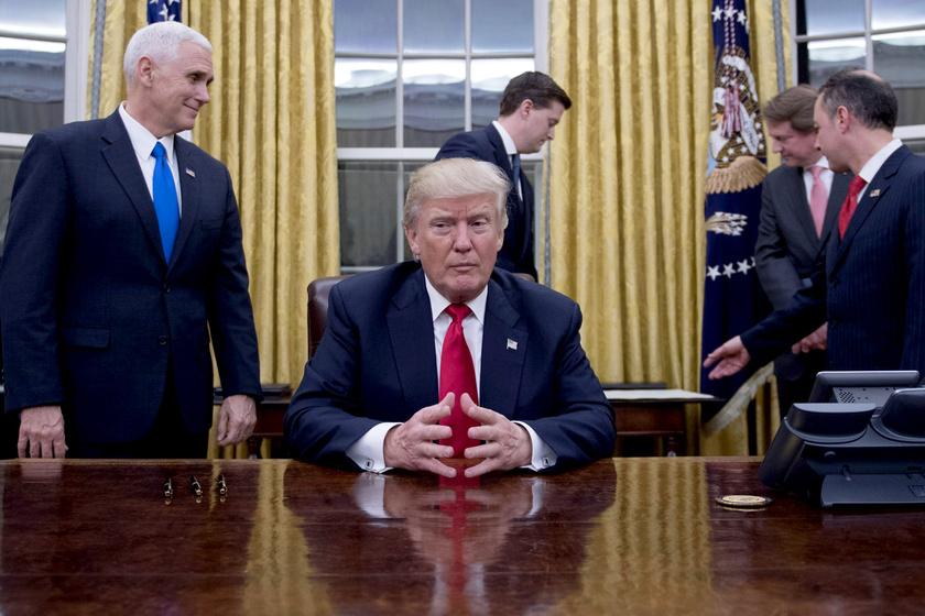 Otthon volt az elnök, amikor a nő be akart menni