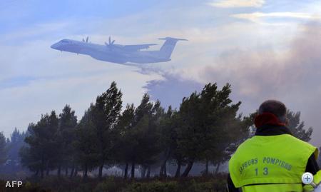 650 tűzoltót, 75 tűzoltó kocsit, több repülőt és helikoptert vezényeltek a helyszínre
