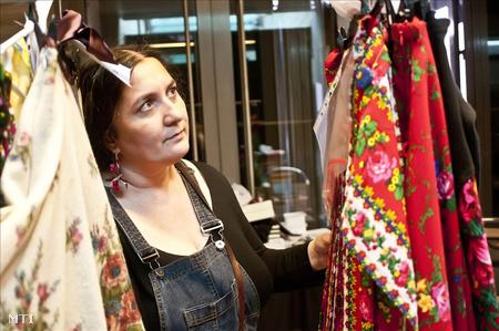 A Romani Design Stúdió alapítója, Varga Erika