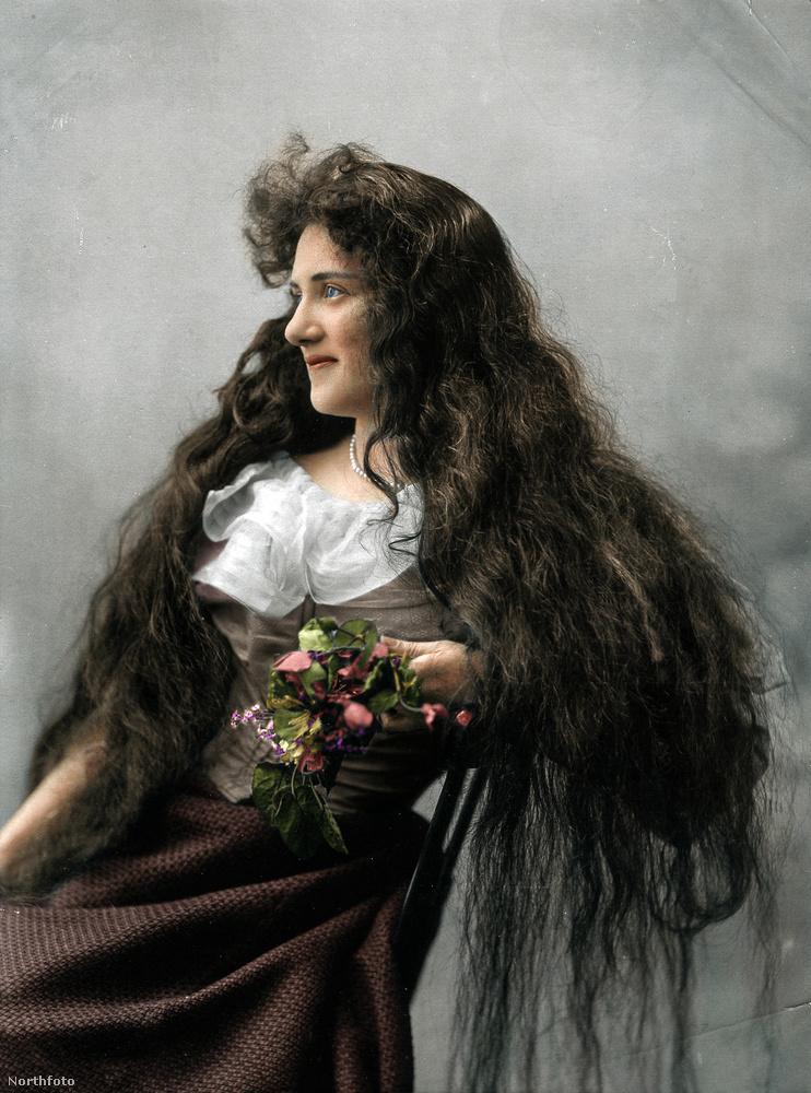 Még 1900-ban is dívott az extrahosszú haj Londonban