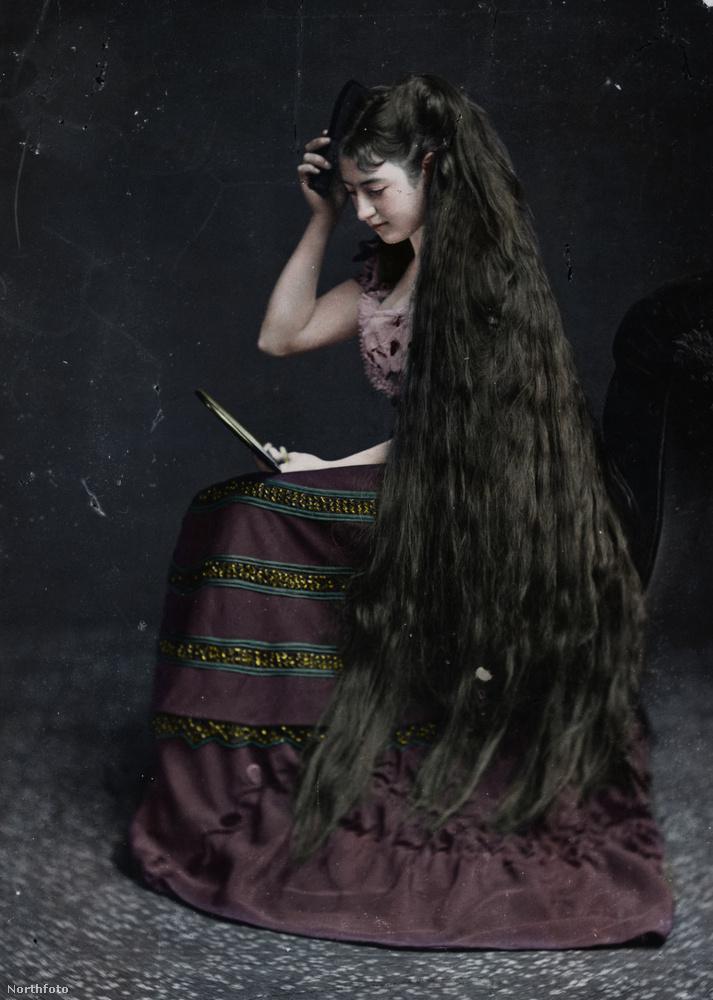 Egy kis brit frizuradivat 1885-ből