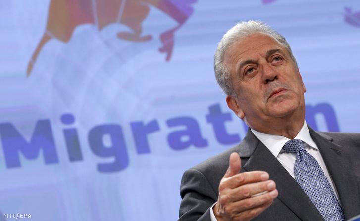 Dimitrisz Avramopulosz, az Európai Bizottság migrációs politikáért és uniós belügyekért, valamint az uniós polgárságért felelő tagja