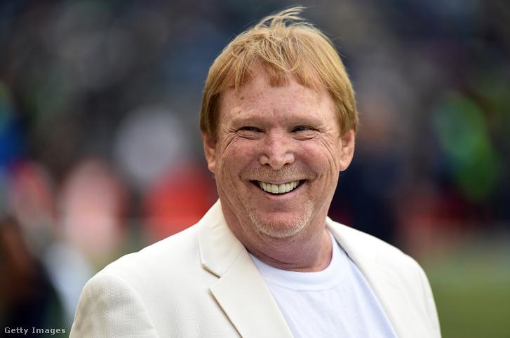 A Raiders tulajdonosa, Mark Davis