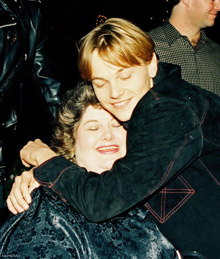 Leonardo DiCaprio és Darlene Cates a Gilbert Grape című fimben