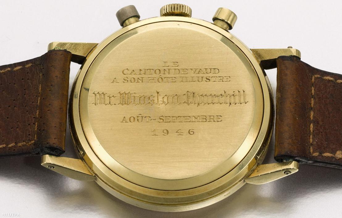 Index - Tudomány - Kalapács alá kerül Churchill svájci arany karórája 3a209462de