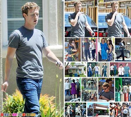 Nézze végig, mit csinált Mark Zuckerberg a hétvégén!