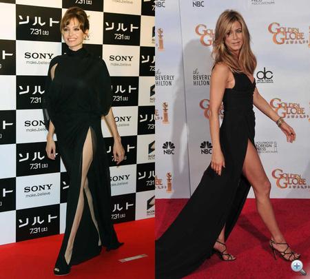 Melyik színésznőnek áll jobban a felsliccelt ruha? Szavazzon!