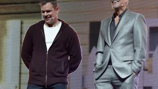 Matt Damonnak és George Clooneynak egészen eltérő elképzelései vannak az illendő viseletről
