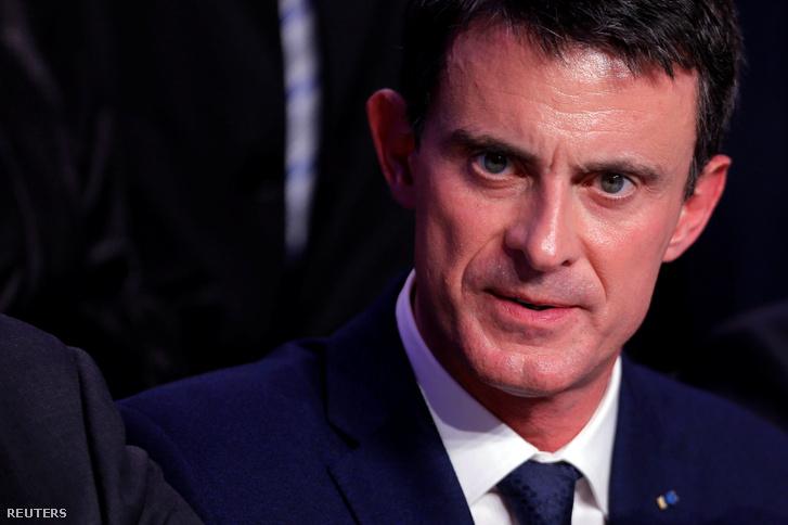 Manuel Valls Macront támogatja