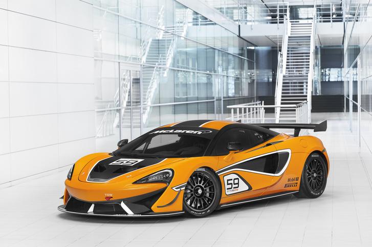 Csaba szerint a bajnoki címre is esélyes autó lett a McLaren 570S GT4