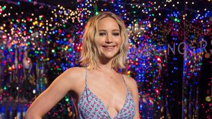 Jennifer Lawrence-t nem érdekli, hogy pasija 22 évvel idősebb nála, sőt, örül neki