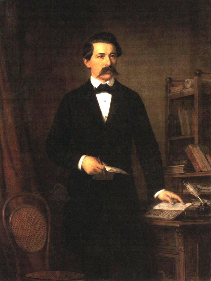 Barabás Miklós: Arany János portréja (1848)