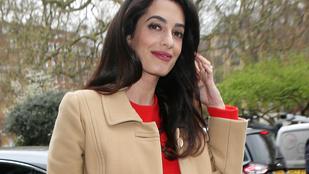 Nehéz elhinni, hogy Amal Clooney júniusban ikreket fog szülni