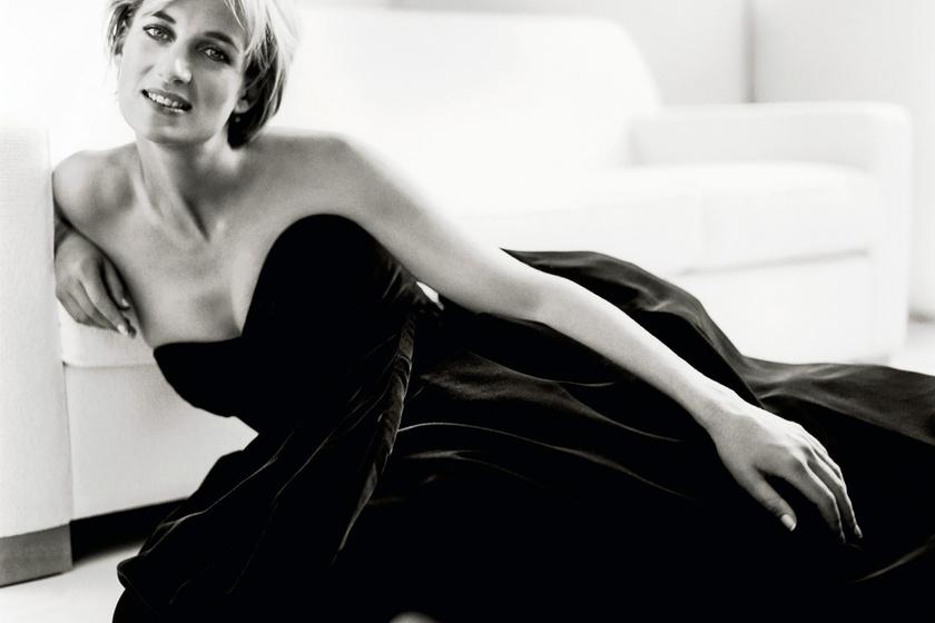 Diana hercegnő álomszépen néz ki ebben a fekete ruhában.