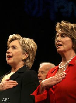 Hillary Clinton és Nancy Pelosi