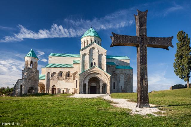 A Bagrati katedrális – hosszabb nevén: Istenanya elszenderedése székesegyház
