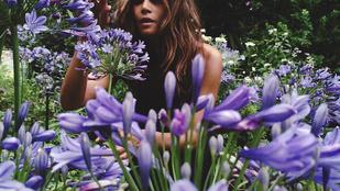 Halle Berry a tavasz örömére kitárulkozott