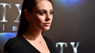 Mila Kunis nem akar több gyereket