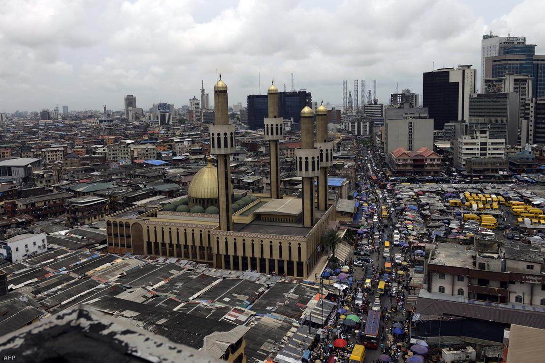 Lagos látképe