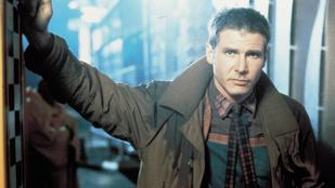 Harrison Ford 35 év után is belefér az eredeti Szárnyas Fejvadász ruháiba