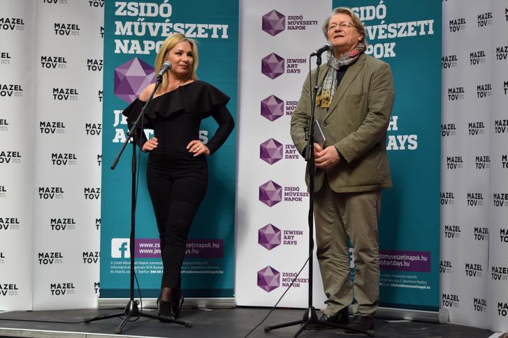 Szücs Gabi és Hegedűs D. Géza