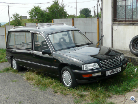 Egy igazán bivaly, 3 literes Opel Senator