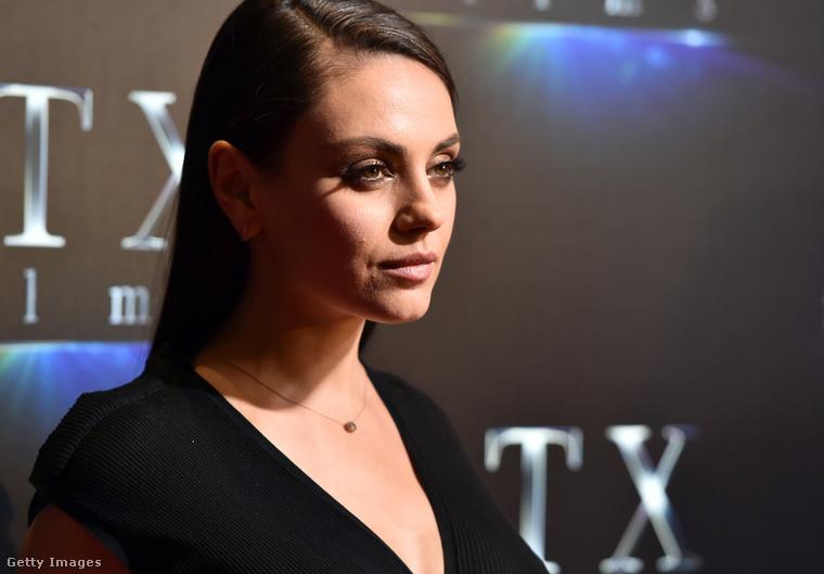 Mila Kunis még mindig nagyon szexi! A színésznő második gyermeke, Dimitri Portwood Kutcher tavaly novemberben jött világra
