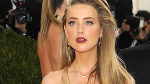 Amber Heardöt meztelen jelenettel verték át