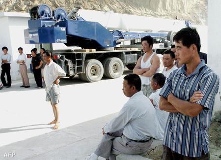 Kínai munkások Gvadarban